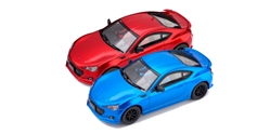 POLICAR PC3001 Subaru BRZ Blue and Red with Lights