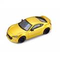 POLICAR PCT01U Subaru BRZ Yellow with Lights