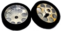 Plafit PL812106T Super 24 GT Front Wheels FOAM 3mm Axle 26.2x7mm