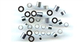 Plafit PL8221 Axle Spacer Assortment for 3mm axles
