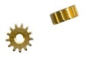 Plafit PL8511F Press-Fit Brass Pinion Gears - 13 Tooth - 2 Pinions / Package