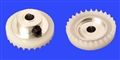 Plafit PL8531Y Inline Crown Gear for 3mm Axle 26 Tooth