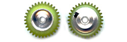 "Plafit PL8542B SPUR Gear for 3mm (0.118"") Axle 32 Tooth"