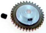 "Plafit PL8543DX SPUR Gear for 3/32"" (2.37mm) Axle 37 Tooth"