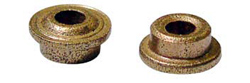 "Professor Motor PMTR1073 Low friction style oilite bushing - 3/32"" ID x 3/16"" OD flanged - 1 pair / package"