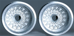 "Professor Motor PMTR1112F Chaparral / BBS 1/24 Die Cast FRONT Wheels - 1 Pair 1/8"" Axle"