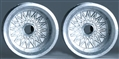 "Professor Motor PMTR1112R Chaparral / BBS 1/24 Die Cast REAR Wheels - 1 Pair 1/8"" Axle"