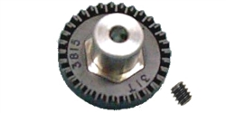 "Professor Motor PMTR1151 30 tooth Cox crown gear for 1/8"" diameter axle - 48 pitch."