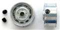 Professor Motor PMTR1212 Porsche 1/24 Die Cast FRONT Wheels 3mm Axle