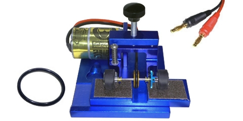 Tire Truing Machine For Slot Cars