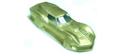 Professor Motor PMTR3020 Reproduction 1960's vintage MPC Series II Mako Shark 1/24 Clear Body