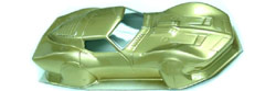 Professor Motor PMTR3514G Reproduction 1960's  MPC Series II Mako Shark 1/24 Painted Body - Gold Color