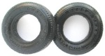 "Ortmann PMTR4526 1/32 Monogram repro front tires - Goodyear markings - 0.77"" dia. 0.25"" wide -"