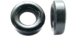 "Ortmann PMTR4542 1/24 Pair of molded tires - for Monogram rear wheels - for Monogram ""Series 1"" cars"