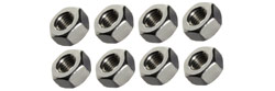 Professor Motor PMTR7009 #2-56 stainless steel hex nuts