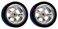 Professor Motor PMTR8013 Dynamic Drag Slicks with Ortmann Tires