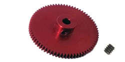 Professor Motor PMTR9562 Weldun 62 Tooth 64 Pitch Aluminum Axle Gear