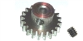 "Professor Motor PMTR9620 Weldun 20 Tooth 48 Pitch Pinion 3/32"" Bore"