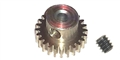 "Professor Motor PMTR9721 Weldun 21 Tooth 64 Pitch Pinion 3/32"" Bore"