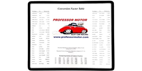 Professor Motor PMTR9903 Hot Rod Logo Mouse Pad