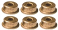 Pro Slot PS-2015 SpeedFX 16D / Super 16D 2x5mm Can & Endbell Oilite Bushings