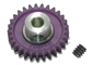 "Pro Slot PS-673-29 Polymer Axle Gears 48 Pitch 29T 1/8"" Axle BULK PACK"