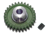 "Pro Slot PS-673-30 Polymer Axle Gears 48 Pitch 30T 1/8"" Axle BULK PACK"