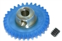 "Pro Slot PS-673-31 Polymer Axle Gears 48 Pitch 31T 1/8"" Axle BULK PACK"