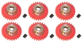 Pro Slot PS-682-26 Polymer Axle Gears 48 Pitch 26 Tooth x 6