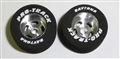 "Pro-Track PT219A 13/16"" Foam ""Daytona Stockers"" FRONT 1/24 Tires 1/8"" Axle"