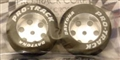 "Pro-Track PT400 1.06"" Foam ""Daytona Stockers"" FRONT 1/24 Tires 3/32"" Axle"