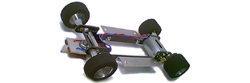 "Pro-Track PT512P 1/24 ""Hardbody"" chassis kit - Wheelbase 3 7/8"" to 4 5/8"" (77mm to 117mm)."