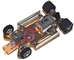 "Pro-Track PT625 ""CLUB"" 1/32 Chassis Brass Pan Kit"