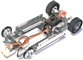 Pro-Track PT626 1/24 Aluminum Drag Racing Chassis Kit