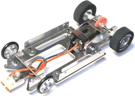 Pro Track Pt626 1 24 Aluminum Drag Racing Chassis Kit
