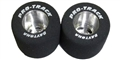 "Pro-Track PTN250A 0.850"" Diameter TQ 1/8"" Axle Natural Rubber"