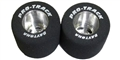 "Pro-Track PTN252A 0.910"" Diameter TQ 1/8"" Axle Natural Rubber Tires"