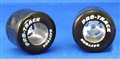 "Pro-Track PTs250 0.850"" Diameter Silicone Coated ""Daytona Stockers"" Tires 1/8"" Axle"