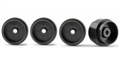 Policar PW16011724P Plastic F1 Rear Wheels 16 x 11.7mm