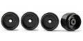 Policar PWH1217-PL Light Weight Plastic REAR Wheels 16 x 11.7mm