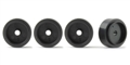 Policar PWH1218-PL Light Weight Plastic FRONT Wheels 13.8 x 7.9mm