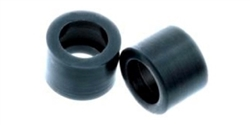 Quick Slicks QS-TS03XF Xtra Firm for Thunder Slot McLaren Elva rear wheels (3-rib design).