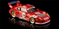 Revo Slot RS0031 1/32 Analog RTR Porsche 911 GT2 Playstation RED #79