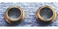 "Slick Seven S7-142 Brass Reducer Bushings 1/4"" to 3/32"" - 1 pair"