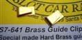 Slick Seven S7-641 Brass Glide Clips - 1 Pair