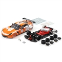 SCALEAUTO SC-6179D 1/32 Analog Chevrolet Corvette C7R GT3 Cup Edition Orange/White