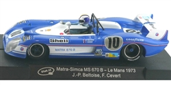 Slot.it SICA37A  Matra-Simca MS670B #10 LeMans 24 Hours 1973