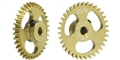 Slot.it SIGA1835E Aluminum AW Gear 35 Teeth 18mm Diameter
