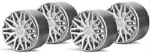 Slot.it SIPA13S OZ style F1 wheel inserts - silver - for SIPA14 wheels - 4 pcs / card