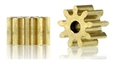 Slot.it SIPI559o15 Brass Press-on 9 Tooth INLINE ONLY pinions for 1.5mm Shaft